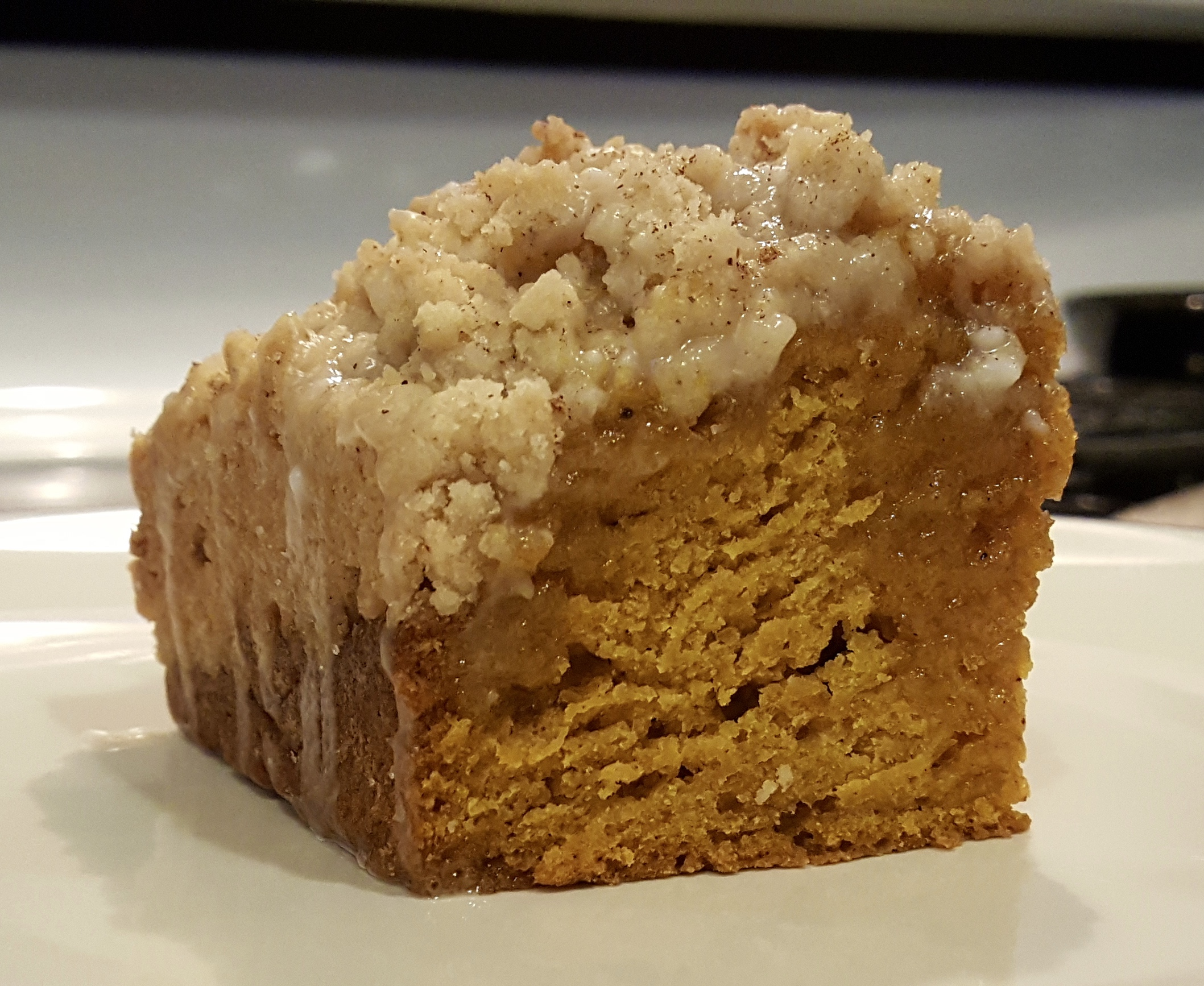Pumpkin Crumble Coffee Cake