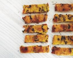 Polenta & Kale Chips