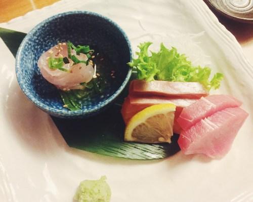 Sono Restaurant - sashimi