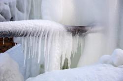 Чтобы в доме не замерзал водопровод