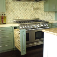 Kitchen Base Cabinet Pull Outs Islands With Storage Blind Corner Units | #kbtribechat