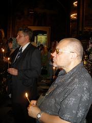 Юрій Луканов на акції пам'яти загиблих журналістів 16 вересня 2009 р.