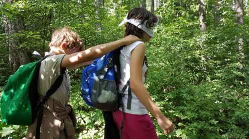WOW Waldwoche: Führung übernehmen bzw. abgeben