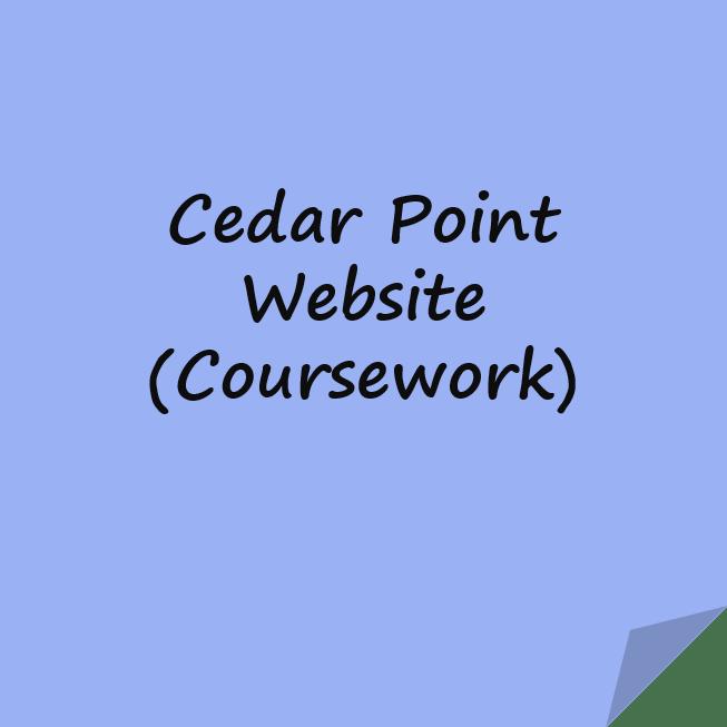 Cedar Point Website