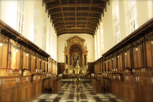 The Chapel, Trinity College, Cambridge.