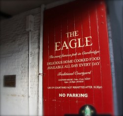 The Eagle, historic pub, Cambridge