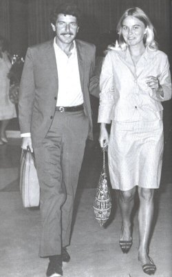 Marianne Jensen and Leonard Cohen