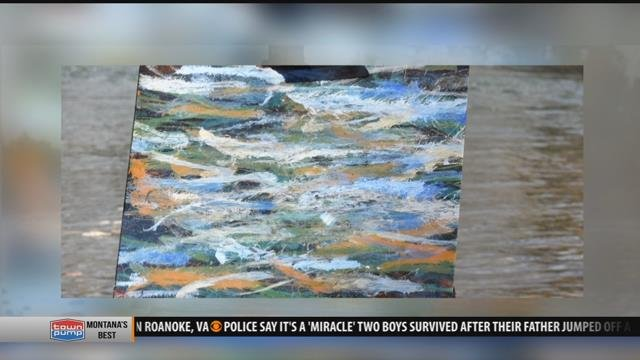 Three months ago Ben Miller quit his job, sold his house in Washington and moved to Bozeman to paint rivers.