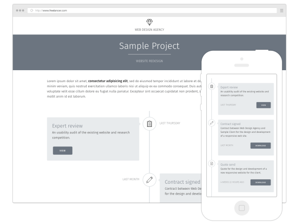Kirby Project Hub project management tool for freelance web designers