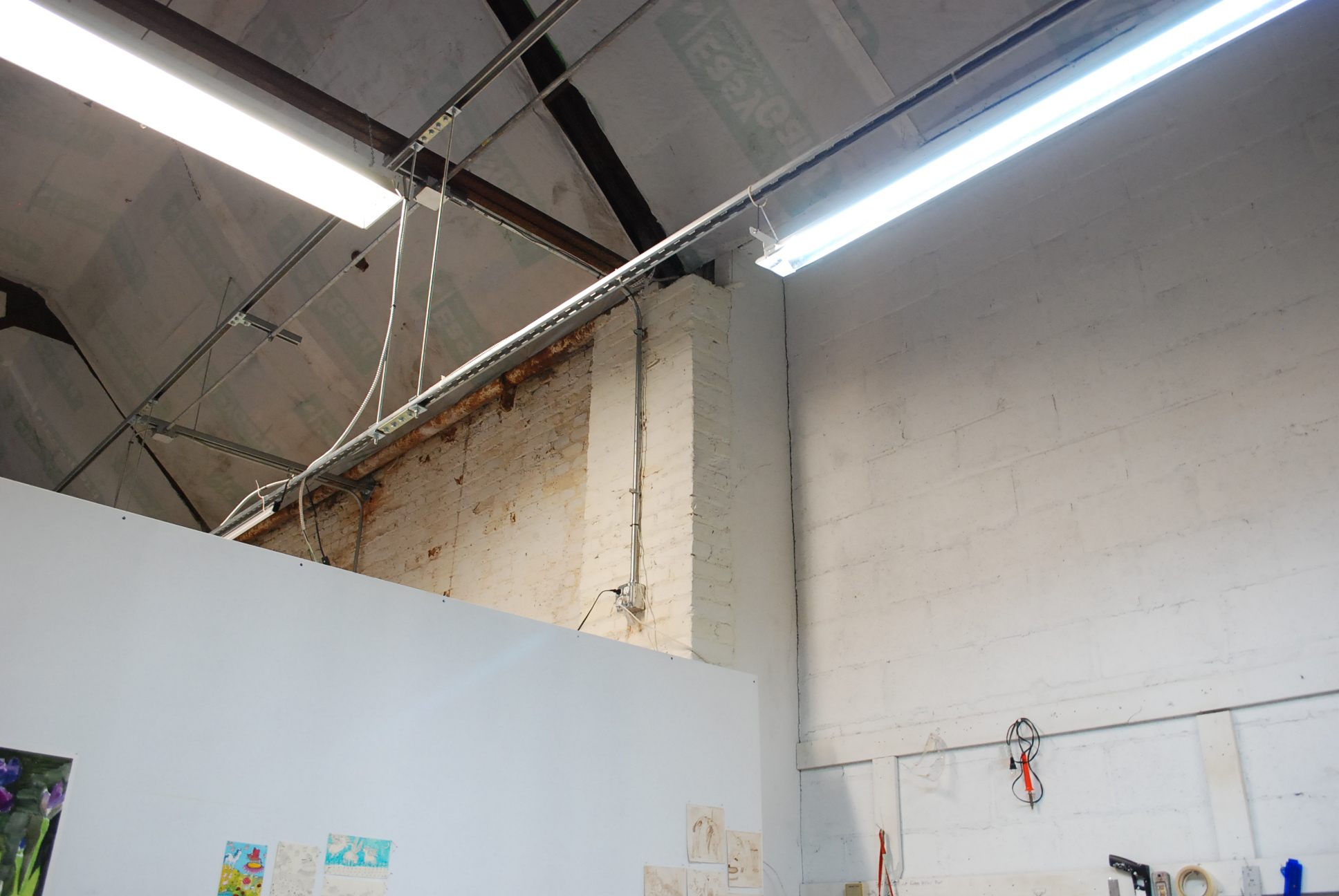 Looking for a Studio Space Caranne Camarena painting 12 Opens Vulpes Bastille Artist Studios