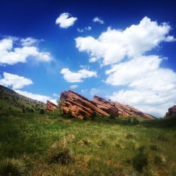 First time visiting Red Rocks, Morrison, CO.