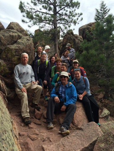Boulder Social Hikers - We hiked the first Flatiron