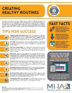 creating healthy routines