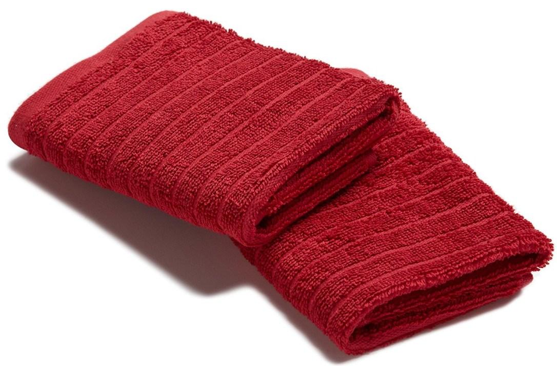 Red Washcloth