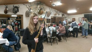 Hunters' Dinner at KCCL was a great night of dinner, fun and guns!