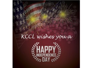 Happy Independence Day from KCCL