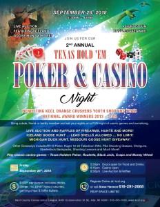 Casino Night at KCCL
