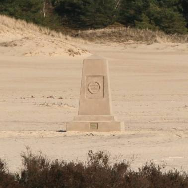 Monument de souvenir, in situ