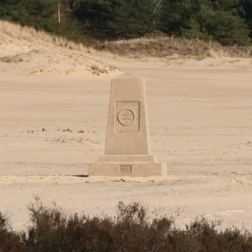 Monument de souvenir, in situ