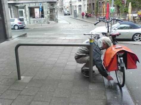 Grey Heklucht in Antwerp, Belgium