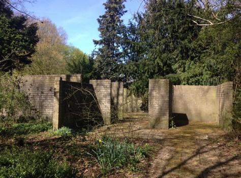Remains of former pavilion 'Wonen met groen' overview