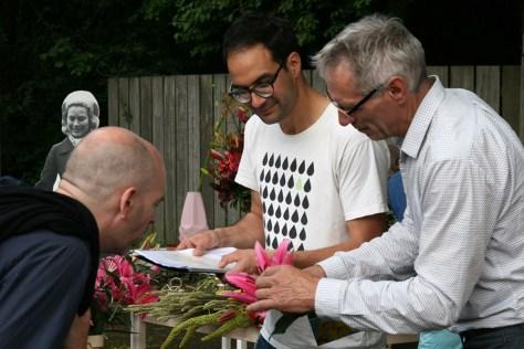 Wijnand van der Kooij of De Jong Lelies explains how the colour coding of a lily works