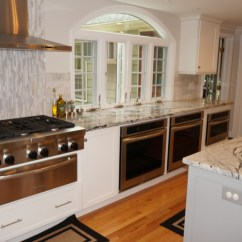 Black And White Tile Kitchen Backsplash Sinks Drop In Double Bowl Warwick, Ri | & Countertop Center Of New England