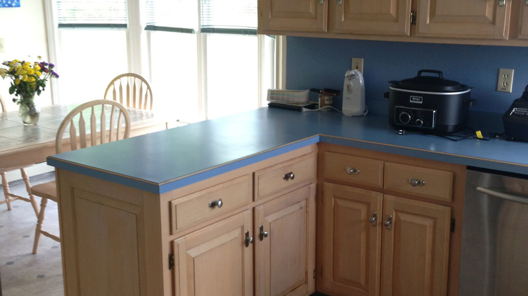 granite top kitchen island renovation on a budget east connecticut | & countertop center of new england