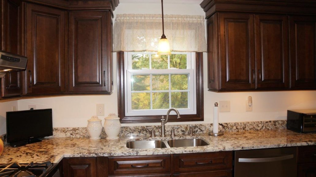 granite top kitchen island oak table and chairs cranston, ri | & countertop center of new england