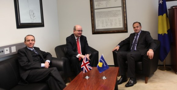 Kosovo's FM thanks the United Kingdom for supporting the recognition process