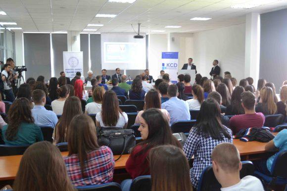 Qendra Kosovare për Diplomaci mbajti konferencë në kuadër të javës së Evropës