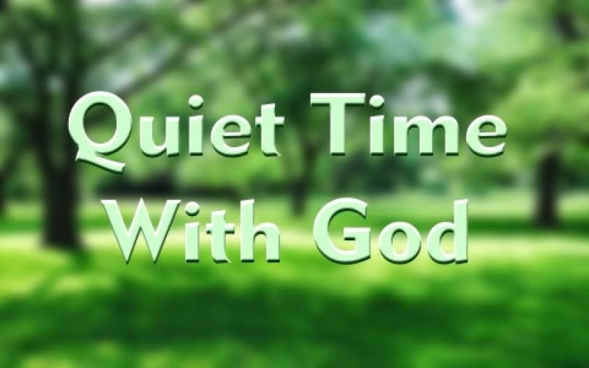 Hasil gambar untuk quiet place to pray