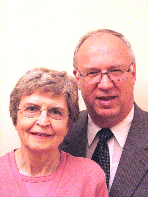 Dr. Ted & Mrs. Shirley Clater