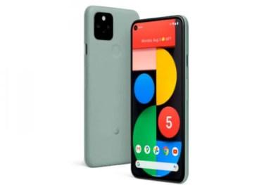 【新商品】5G対応のスマートフォン「Pixel 5」と「Pixel 4a 5G」を、Googleが発表