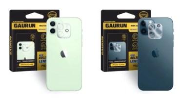 【新商品】最高品質のフィルム専門ブランド「GAURUN(ガウラン)」よりiPhone 12シリーズのカメラレンズ用ガラスフィルムが発売