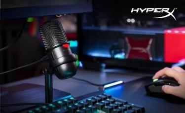 【新商品】ストリーマーおよびコンテンツ制作者向けの「HyperX SoloCast USBマイクロフォン」が発売