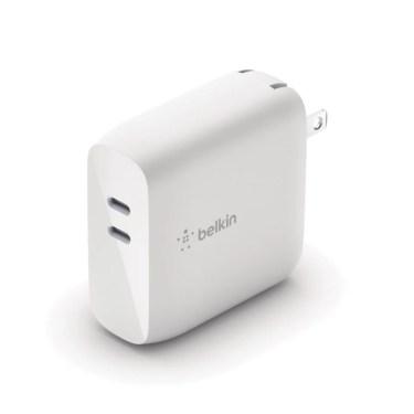 【新商品】GaN内蔵でコンパクトで大電力、最大68Wでデバイスを2台同時に高速充電の「Belkin BOOST↑CHARGE™ PRO 68W USB-C PD GaN USB充電器」が発売