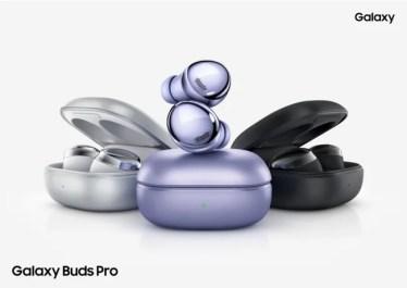 【新商品】究極のノイズキャンセリングを実現した利便性と防水性を兼ね備えたオーディオで、シーンを選ばず快適に使えるワイヤレスイヤホン 「Galaxy Buds Pro」が発売