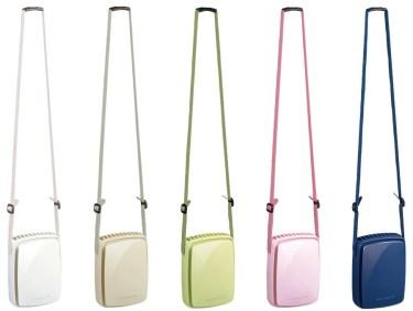 【新商品】 手ぶらで涼しいネックストラップファン「GH-FANSIC」が発売