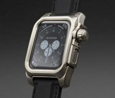 【新商品】AppleWatch4,5,6を 個性的で正統的な腕時計として装う 心電図 App対応メタル削り出しケース『NEXT for Apple Watch 6』が発売