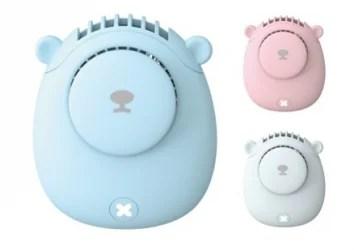 【新商品】クマの形をしたかわいい小型扇風機 BEAR MINI FANが発売