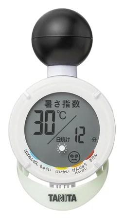 【新商品】黒球式熱中アラーム「TC-210」日焼けアラーム機能付きが予約発売開始