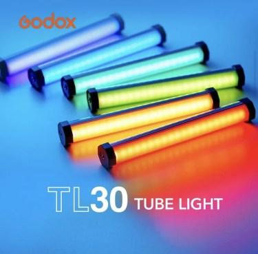 【新商品】写真、映像向け照明メーカーGodoxからTL30 RGB LED ビデオライトが発売