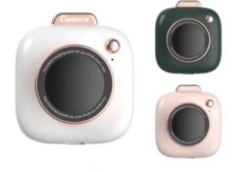 【新商品】小型カメラの形をしたポータブル扇風機 ミニカメラポータブルファンが発売