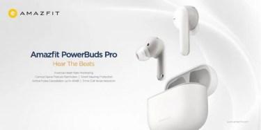 【新商品】高度なヘルスモニタリング機能を備えた 完全ワイヤレスイヤホン「 Amazfit PowerBuds Pro 」が発売