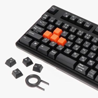 【新商品】Cherry社製 メカニカルキースイッチを採用、テンキー付きフルサイズメカニカルキーボードが発売