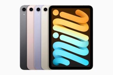 【新製品】最も先進的なA15 Bionicチップを搭載した最新のiPad mini(第6世代)を、アップルが発表