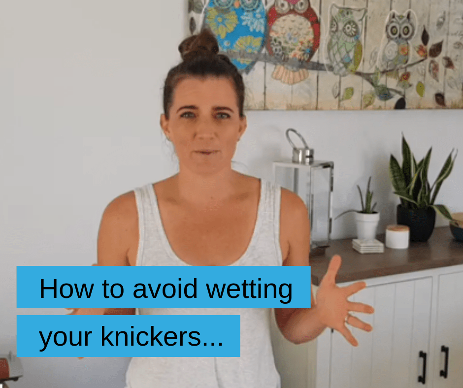 How to avoid wetting your knickers   KC Fit Online Fitness Membership