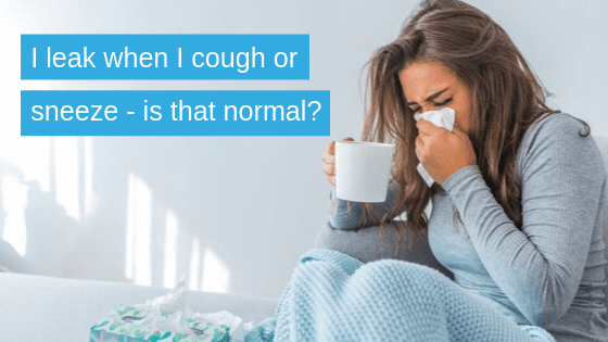 incontinence when I sneeze what can I do