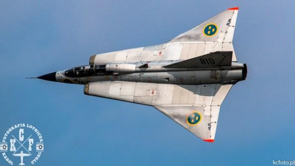 Saab Sk35C Draken SE-DXP cn 35810